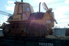 Перевозка бульдозера Komatsu D-85